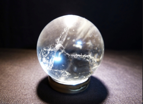 A crystal ball