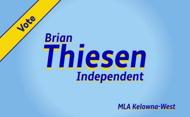 Brian For MLA Kelowna West